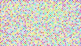 Modny barwiony abstrakcjonistyczny tło ilustracja wektor