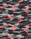 Modny kamuflażu wzór Fotografia Stock