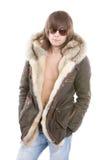 modny mężczyzna parka target502_0_ Fotografia Stock