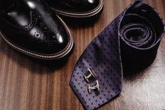 modny mężczyzna ` s odzieżowy i akcesoria Fotografia Stock