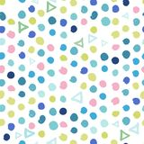 Modny pastel skrobanin wzór Abstrakt Obraz Royalty Free