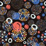 Modny pastel skrobanin wzór Abstrakt Zdjęcie Royalty Free