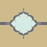 Modny rocznik projektująca odznaka Zdjęcia Royalty Free