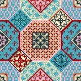 Modny wzór w Arabskim stylu, bezszwowy tło, arabeskowy wektor royalty ilustracja