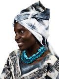 Modo africano Fotografia Stock Libera da Diritti