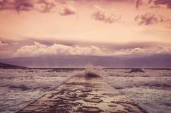 Modo al mare Fotografia Stock