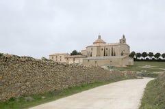 Modo al santuario di Almenar de Soria Fotografie Stock