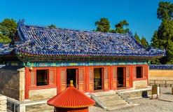 Modo all'altare circolare del monticello a Pechino Fotografia Stock