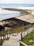 Modo alla spiaggia 2 Fotografie Stock