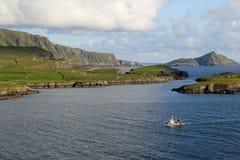 Modo atlantico selvaggio, Portmagee Fotografia Stock Libera da Diritti