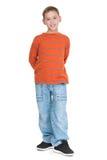Modo casuale del ragazzo Fotografia Stock Libera da Diritti