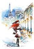 Modo in città royalty illustrazione gratis