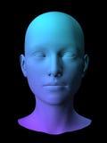 modo da fêmea 3D Foto de Stock Royalty Free