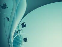 Modo da mola de turquesa Fotos de Stock Royalty Free