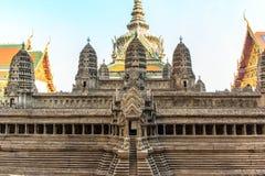 Modo de Angkor Wat Fotografia de Stock