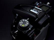 Modo de la prioridad del obturador del dial del modo de la cámara Imagen de archivo