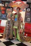 Modo del batik Immagini Stock
