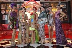 Modo del batik Fotografia Stock Libera da Diritti