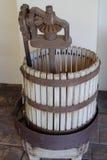Modo del creatore del vino vecchio Fotografia Stock