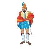 Modo del maschio di rinascita royalty illustrazione gratis