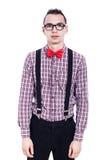 Modo del nerd Fotografie Stock Libere da Diritti