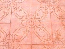Modo del pavimento Fotografia Stock