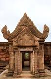 Modo del portello in tempiale asiatico antico immagine stock
