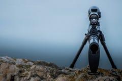 Modo del tiratore franco - SOPRA fotografia stock