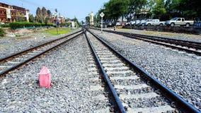 Modo del treno Fotografia Stock
