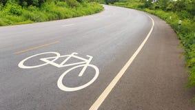 Modo della bicicletta fotografie stock libere da diritti