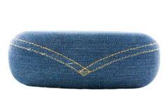 Modo della cassa dei jeans di vetro Fotografia Stock