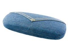 Modo della cassa dei jeans di vetro Immagini Stock Libere da Diritti