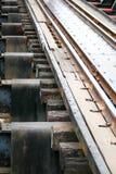Modo della ferrovia Immagini Stock Libere da Diritti
