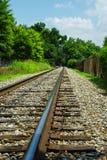 Modo della ferrovia Fotografia Stock