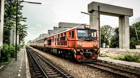Modo della ferrovia Fotografie Stock Libere da Diritti