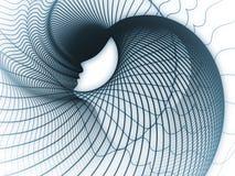 Modo della geometria di anima Fotografia Stock Libera da Diritti