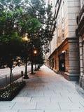Modo della passeggiata nella CC di Wachington fotografia stock