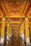Modo della porta nel tempio Fotografia Stock