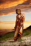 modo della spiaggia Fotografie Stock