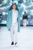 Modo di Bipa sfilata di moda 2017 di ora: Anthony Avangard, Zagabria, Croazia Fotografie Stock