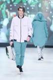 Modo di Bipa sfilata di moda 2017 di ora: Anthony Avangard, Zagabria, Croazia Fotografia Stock Libera da Diritti