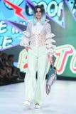 Modo di Bipa sfilata di moda 2017 di ora: Zoran Aragovic, Zagabria, Croazia Immagine Stock Libera da Diritti