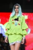 Modo di Bipa sfilata di moda 2017 di ora: Zoran Aragovic, Zagabria, Croazia Immagini Stock