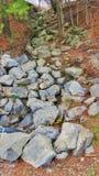 Modo di caduta di Rocky Water Fotografia Stock