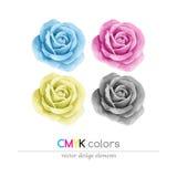 Modo di colore di CMYK Fotografie Stock Libere da Diritti