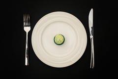 Modo di dieta sopra Fotografia Stock