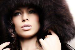 Modo di inverno Fotografie Stock