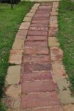 Modo di pietra della camminata del pavimento Fotografia Stock Libera da Diritti
