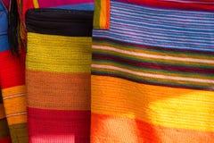 Modo e fondo colorato della coperta Fotografie Stock