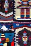 Modo e fondo colorato della coperta Immagini Stock